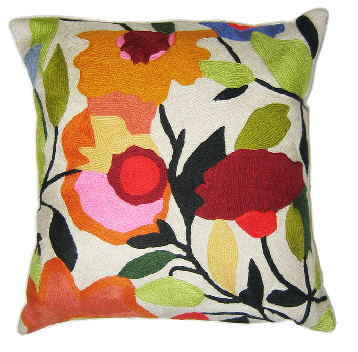 Begonias Pillow