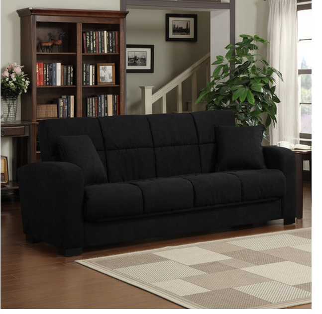 Sleeper sofa black most comfortable sleeper sofa amazing for Most comfortable couches for sale