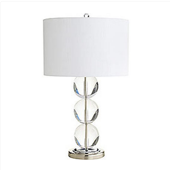 Genial Silver Table Lamp
