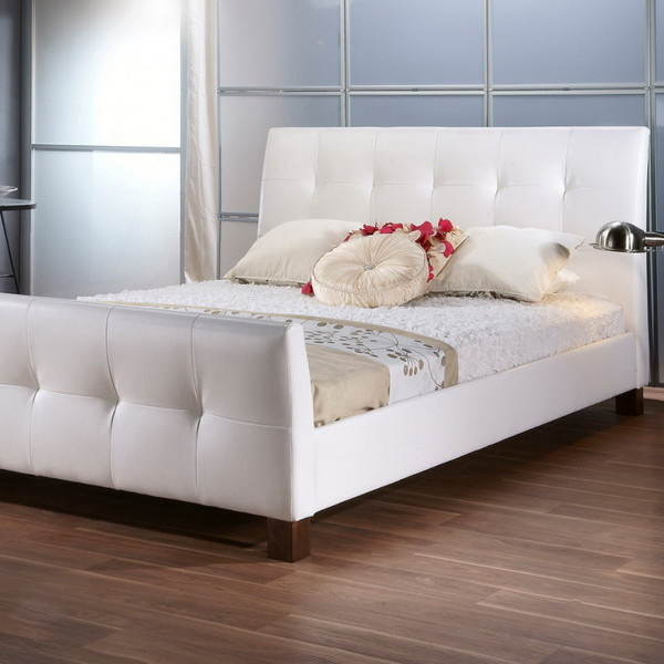7 beautiful white queen size beds from us stores cute furniture. Black Bedroom Furniture Sets. Home Design Ideas