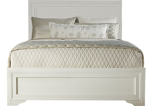 Belcourt Queen Bed White Panel 3 PC 525 x 366