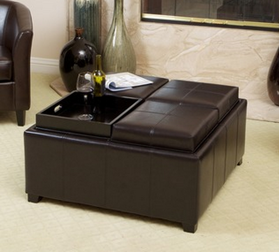 Modern Storage Ottoman - Top 8 Modern Leather Ottomans With Storage - Cute Furniture
