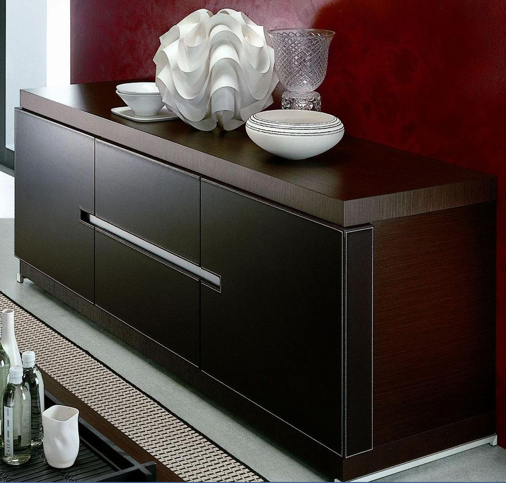 Modern Dark Wood Buffet