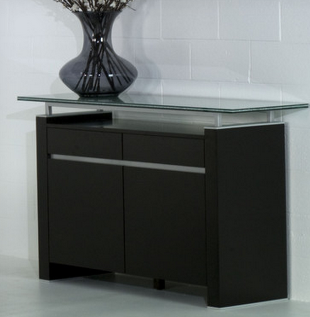 Modern Buffet With Glass