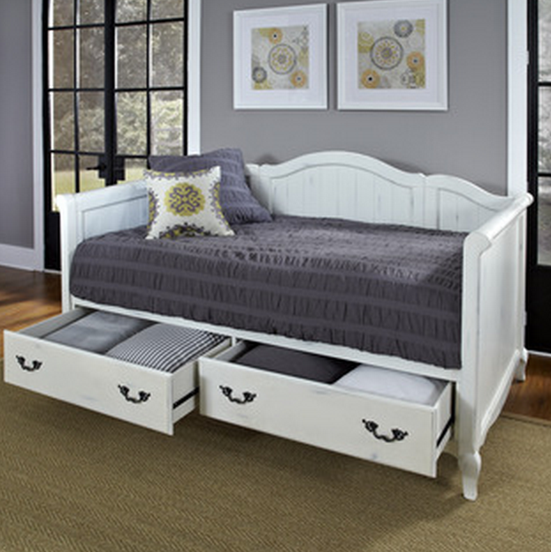 7 white daybeds with storage drawers cute furniture Daybeds with storage