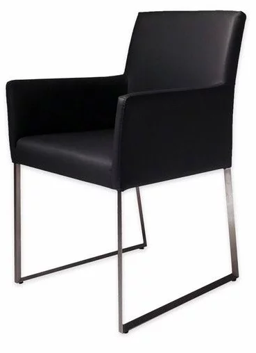 Dining Arm Chairs Black decorate your home in modern family style: jay and gloria's house