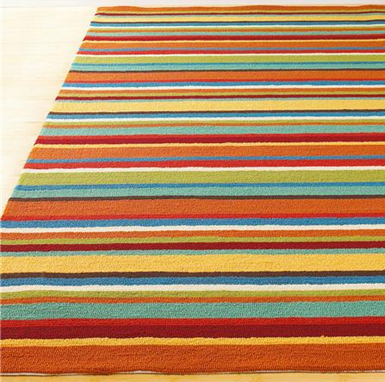 Orange And Teal Rug Home Decor