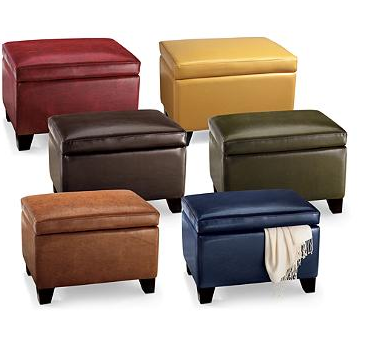 Leather Storage Ottoman  sc 1 st  Cute Furniture & Top 8 Modern Leather Ottomans With Storage - Cute Furniture