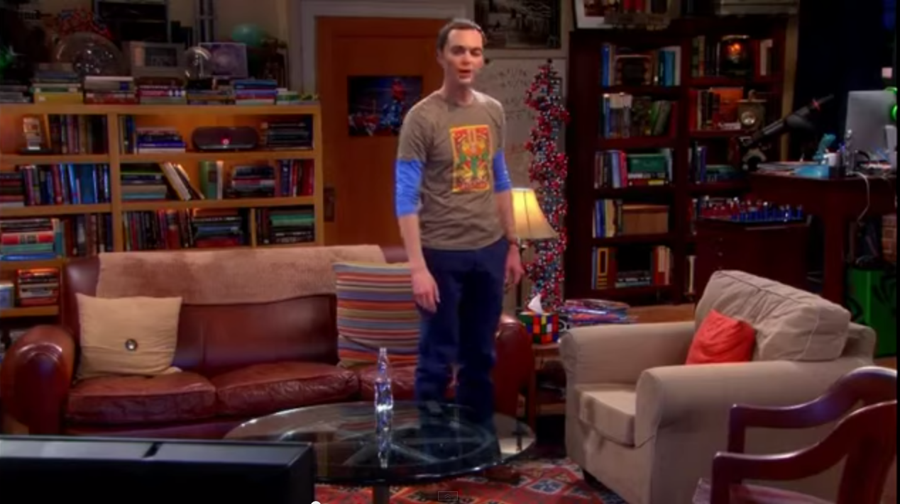 Decorate Your Home In Tbbt Style Sheldon And Leonard S