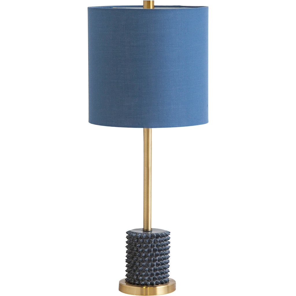 blue-shade-lamp