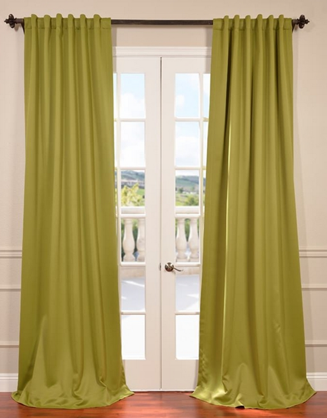 Beautiful Green Curtain