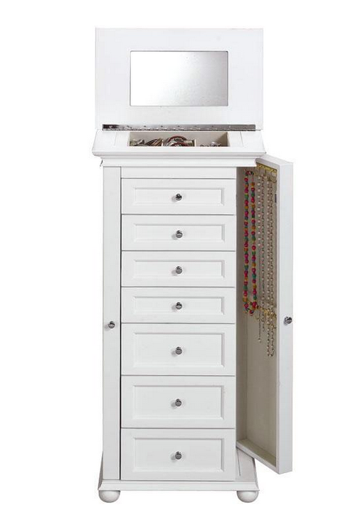 Top 7 cute white jewelry armoires for your bedroom cute furniture white jewelry armoire solutioingenieria Choice Image