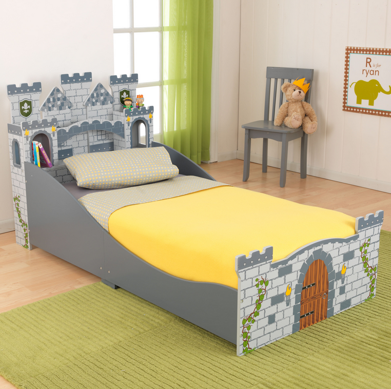Cute Castle Toddler Bed For Boys