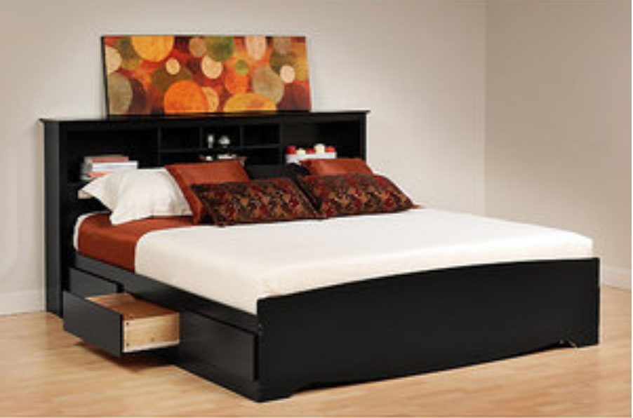 Black King Size Bed With Storage. Price: $499.00 - Top 10 Beautiful Black King Size Beds - Cute Furniture