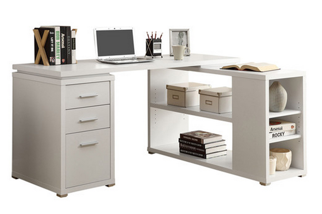 Decorate Your Home Office In White For Less Than 1000 Cute Furniture