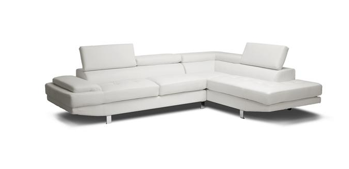 Beautiful White Sectional Sofa