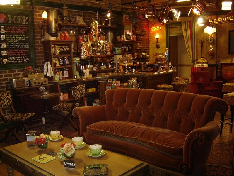 Decorate A Room In FRIENDS Style Central Perk