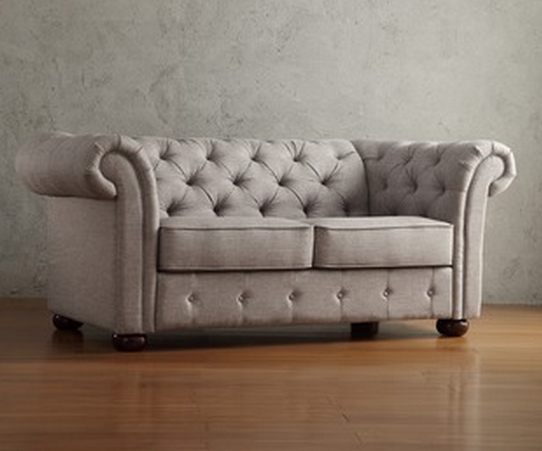 8 Most Beautiful Loveseats For Small Spaces Cute Furniture : Tribecca Home Loveseat from www.cute-furniture.com size 542 x 451 png 348kB