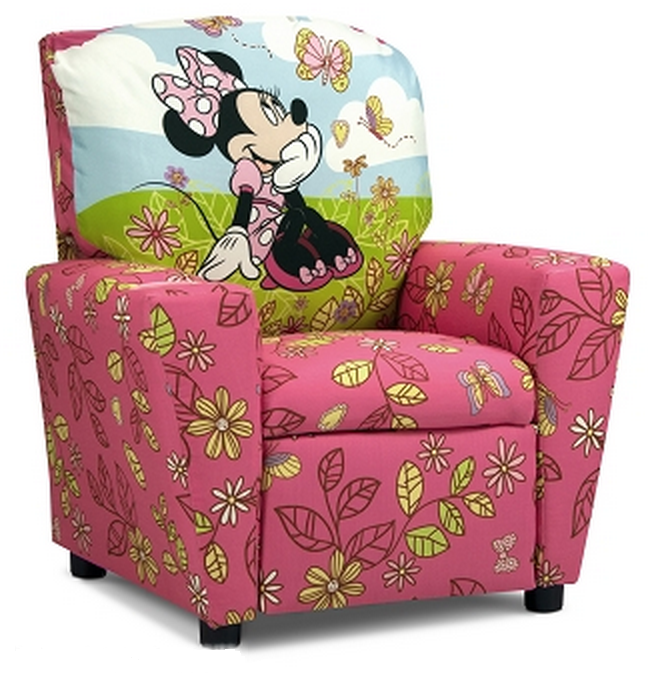 Kids Recliner Minnie Mouse