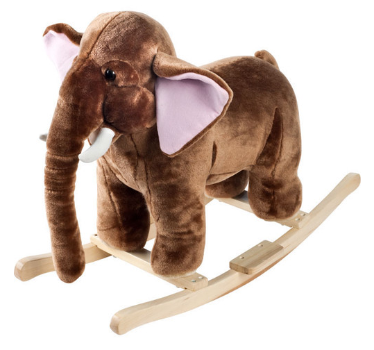 Plush Rocking Mammot For Kids