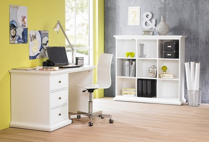 Target Home Office Furniture: Top 7 White Bookcases For Your Home Office