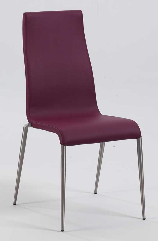 Modern Purple Dining Chair