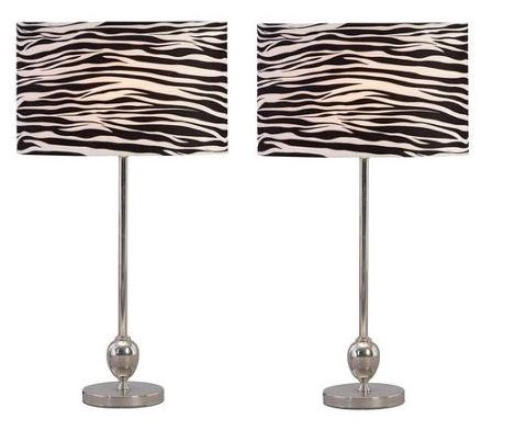 Aspire Zebra Table Lamp