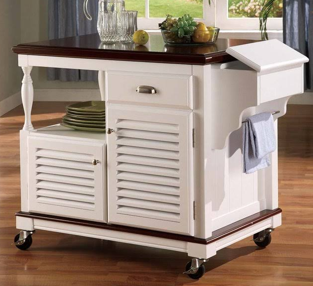 Traditional Kitchen Cart