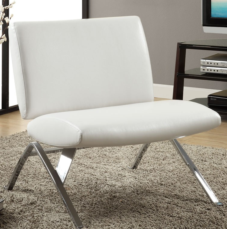 Top 7 white accent chairs for your modern living room for Contemporary furniture chairs