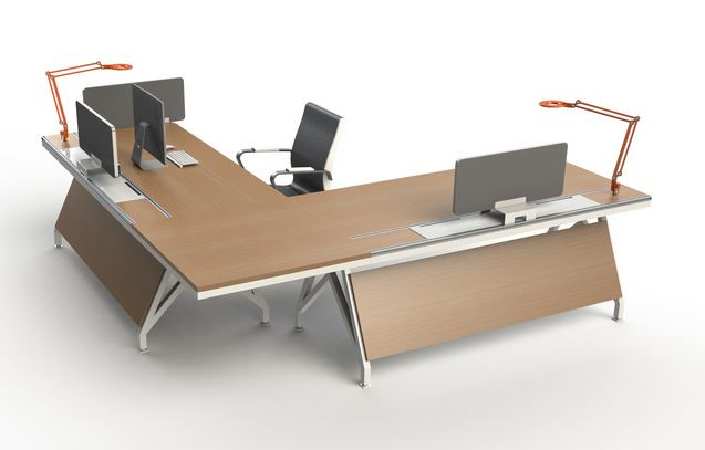 7 most expensive l shape office desks cute furniture for Most expensive office desk