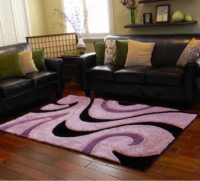 Purple Rugs For Your Contemporary Living Room Cute Furniture