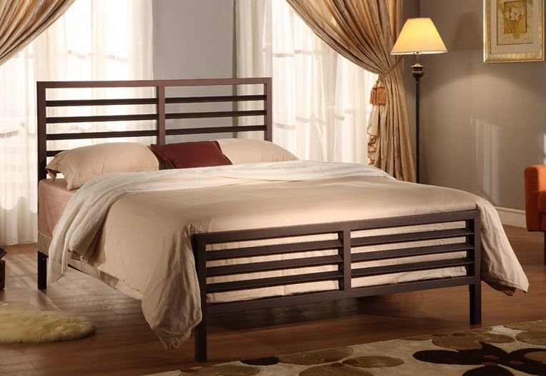 Modern Metal Queen Sized Bed