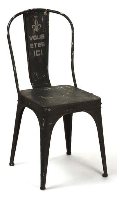 Iron Chair by Zentique