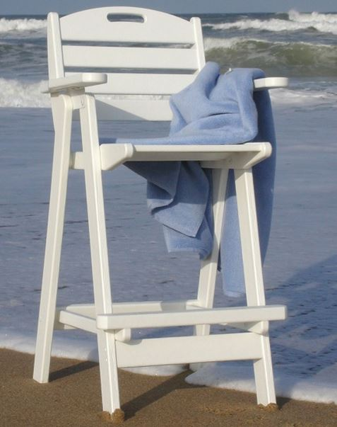 POLYWOOD® Recycled Plastic Nautical 29.5 in. Bar Stool