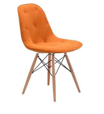 Probability Orange Dining Room Chair