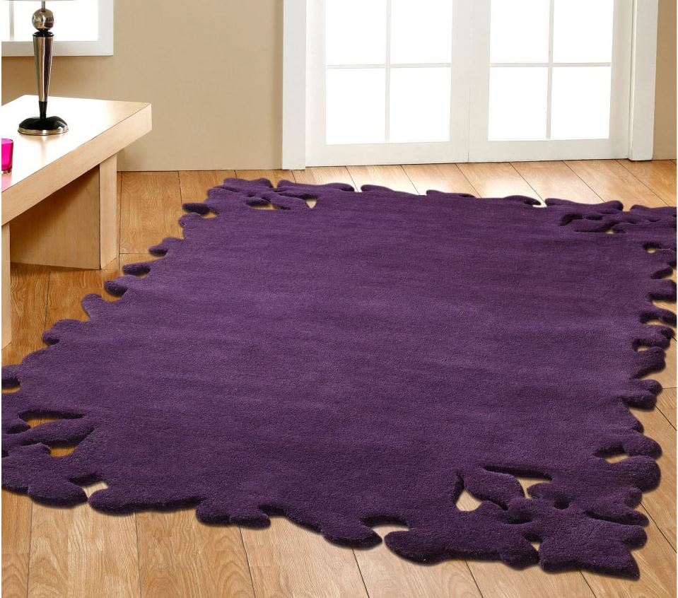 Purple Rug: Purple Rugs For Your Contemporary Living Room
