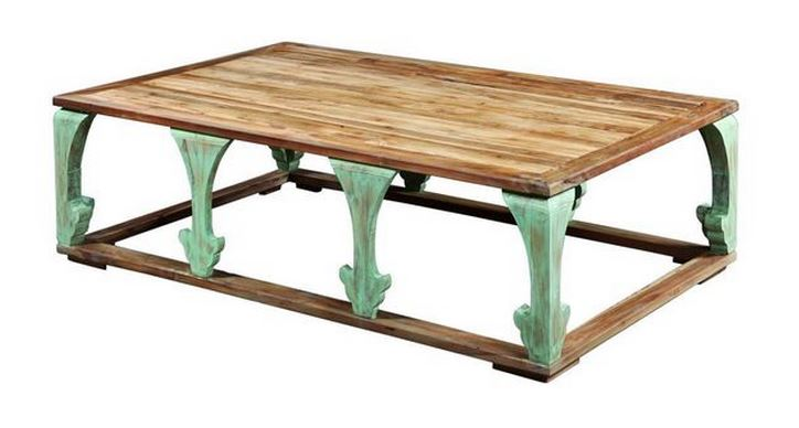 Green Vintage Coffee Table