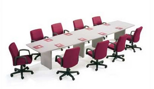 White Conference Table