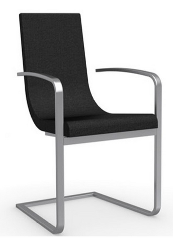 Black Arm Chair For Office