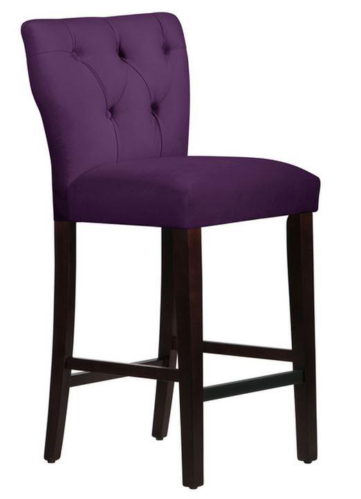 Adjustable Counter Stool With Back