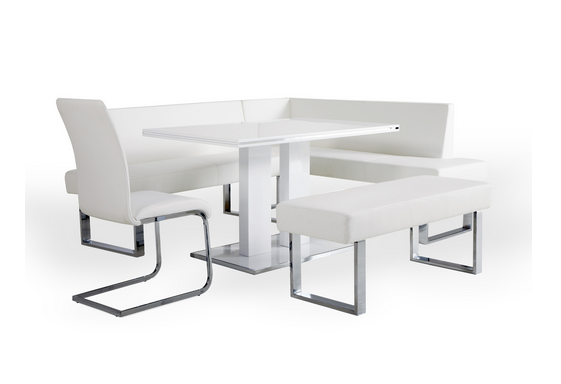White Modern Table Sets For Your Dining Room - Cute Furniture