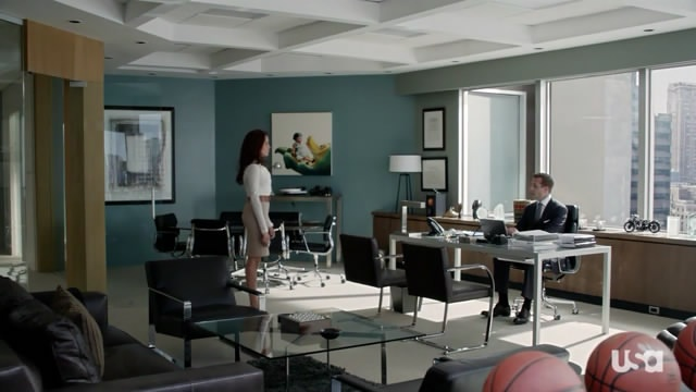 Suits harvey specter office Lawyer Harvey Spected And Rachel In His Office Cute Furniture Decorate Your Office In Harvey Specter Style Suits Cute Furniture