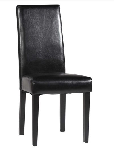 Chintaly-Parsons-Chair-Black
