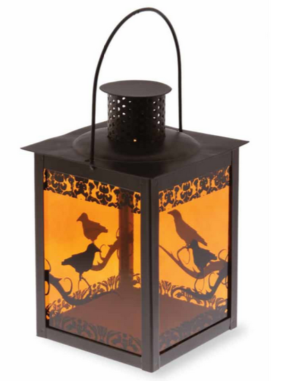 Halloween Decoration Raven Lantern