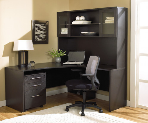 modern black office suite - Jesper Office