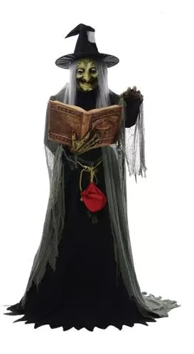 Animated Halloween Prop - Witch