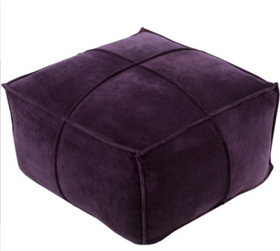 8 Purple Ottomans For Your Living Room Cute Furniture