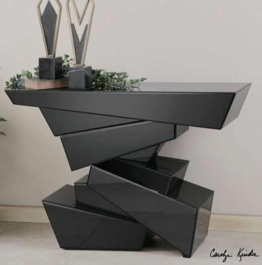 7 modern black console tables cute furniture. Black Bedroom Furniture Sets. Home Design Ideas