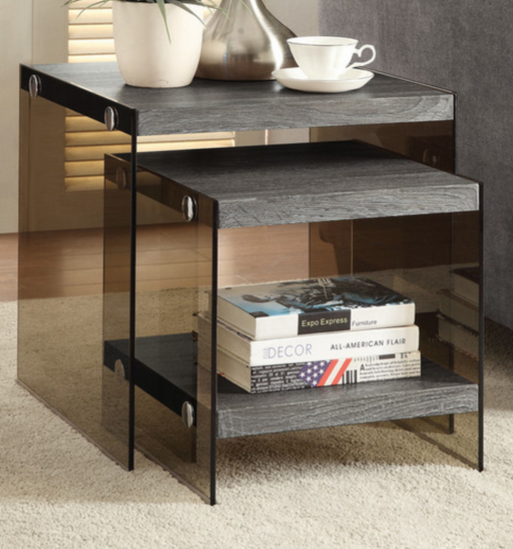 nesting end tables living room. Nesting Table Wildon Home Industrial 7 End Tables For A Modern Living Room  Cute Furniture