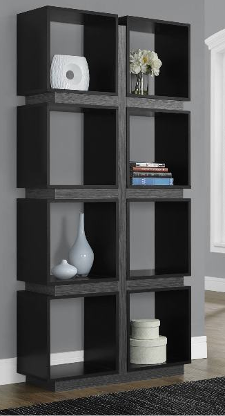 7 Modern Black Bookcases For Your Office
